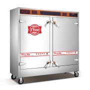 Tủ nấu cơm công nghiệp 24 khay có bảng điều khiển
