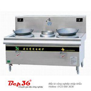 Bếp từ công nghiệp 2 lò 1 bầu nước CH-8XC2