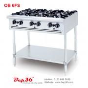bếp âu 6 họng Berjaya OB 6FS