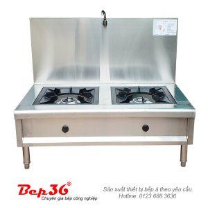 Bếp hầm đôi có vòi nước BH2V