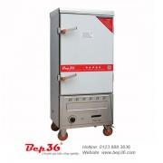 Tủ nấu cơm công nghiệp gas 10 khay