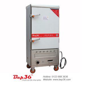 Tủ cơm công nghiệp 10 khay gas điện