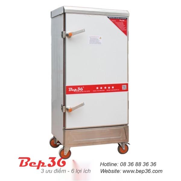 Tủ nấu cơm công nghiệp điện 12 khay