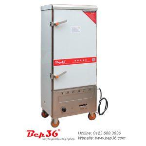 Tủ nấu cơm công nghiệp 12 khay gas điện
