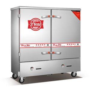 Tủ cơm công nghiệp gas 24 khay