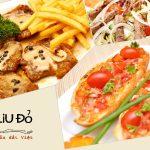 Một trong những món ăn hấp dẫn được phục vụ tại nhà hàng Oliu đỏ