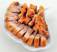 Thịt heo quay húng lìu