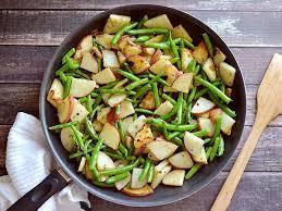 Khoai tây xào đậu đũa