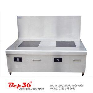 Bếp từ công nghiệp 2 lò phẳng VH12KBx2-IH52