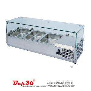 Bàn dưỡng nóng thức ăn 3 khay BN-36V