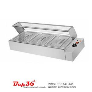 Bàn dưỡng nóng thức ăn 3 ô TGN-3k06