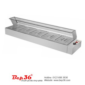Tủ hâm nóng thức ăn 5 ô TGN-5K08