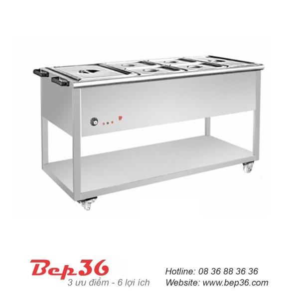 Bàn hâm nóng thức ăn 8 ô TGN-8K10