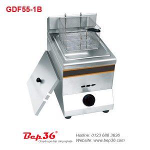 Bếp chiên nhúng đơn gas Berjaya GDF55-1B