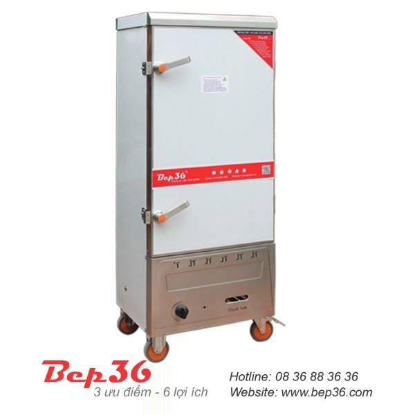 Tủ cơm công nghiệp 12 khay gas
