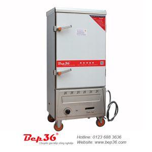Tủ cơm công nghiệp 8 khay gas điện