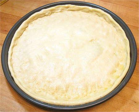 Cách làm vỏ bánh pizza