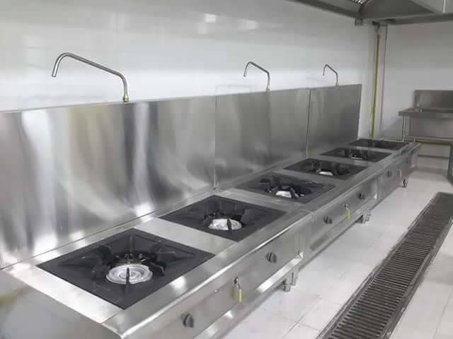 Bếp âu chuyên dụng dành cho các nhà hàng